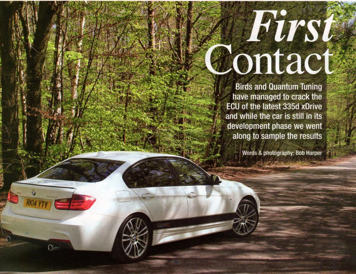 Bmw F30 3 And F32 4 Series Dynamics Package Upgrades Birds