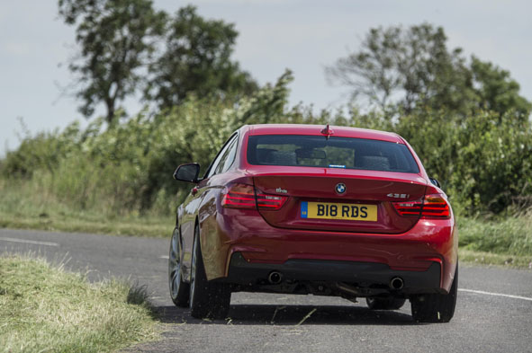 BMW F30 3 and F32 4 Series Dynamics Package Upgrades | Birds