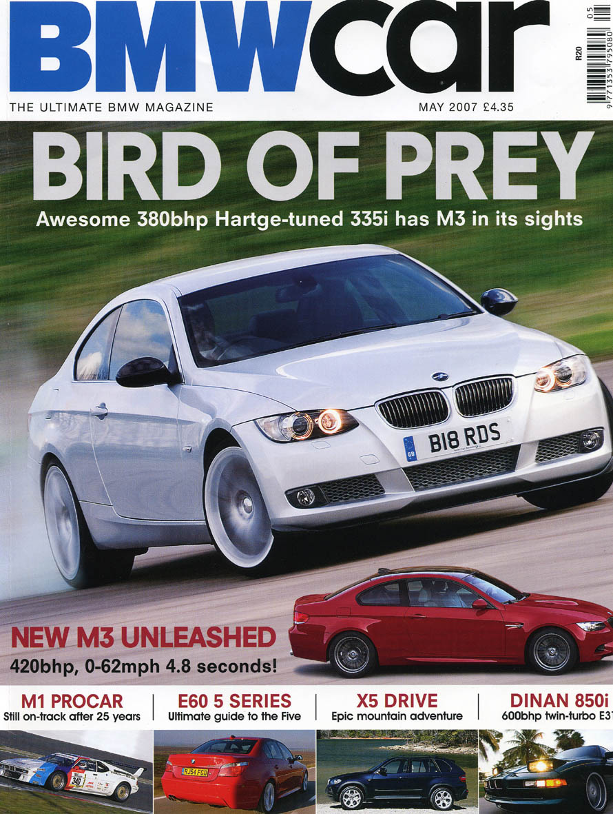 Editorial Bmwcar The End Of M Pire E92 335i May