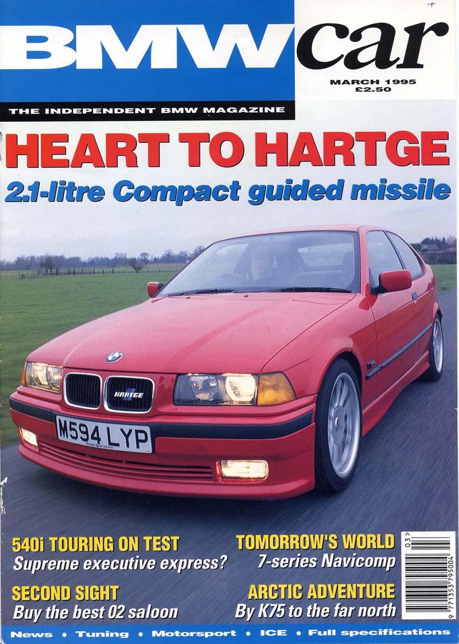 Editorial E36 318ti Bmwcar Heart To Hartge March 1995 Birds