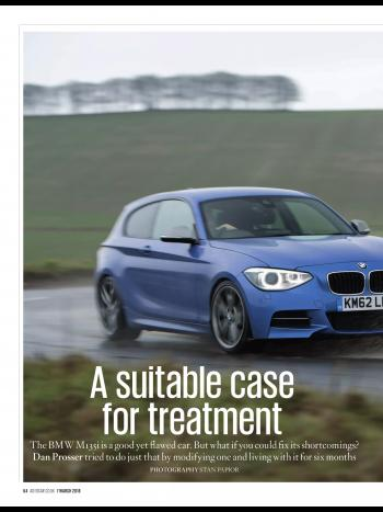 Editorial - F20 M135i - Birds B1 review and M2 comparison - Autocar - March 2018