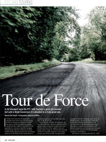 Editorial - F31 340i touring - B3 Conversion - BMWCar 2020