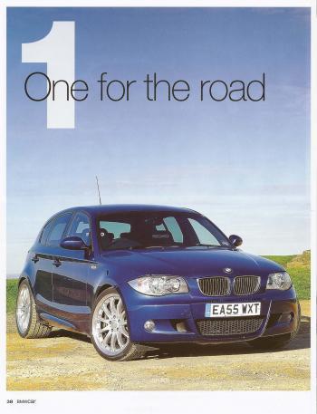 Editorial - E87 130i - BMWCar 'One for the road' - Dec 2010