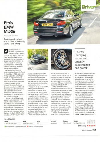 Editorial - F22 M235i - EVO Magazine - July 2017